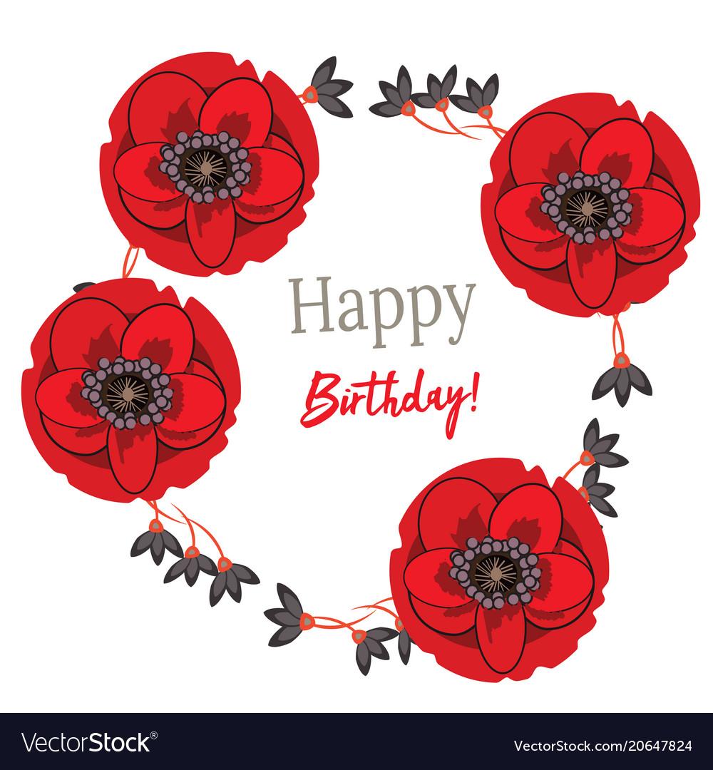 Happy birthday -logo for
