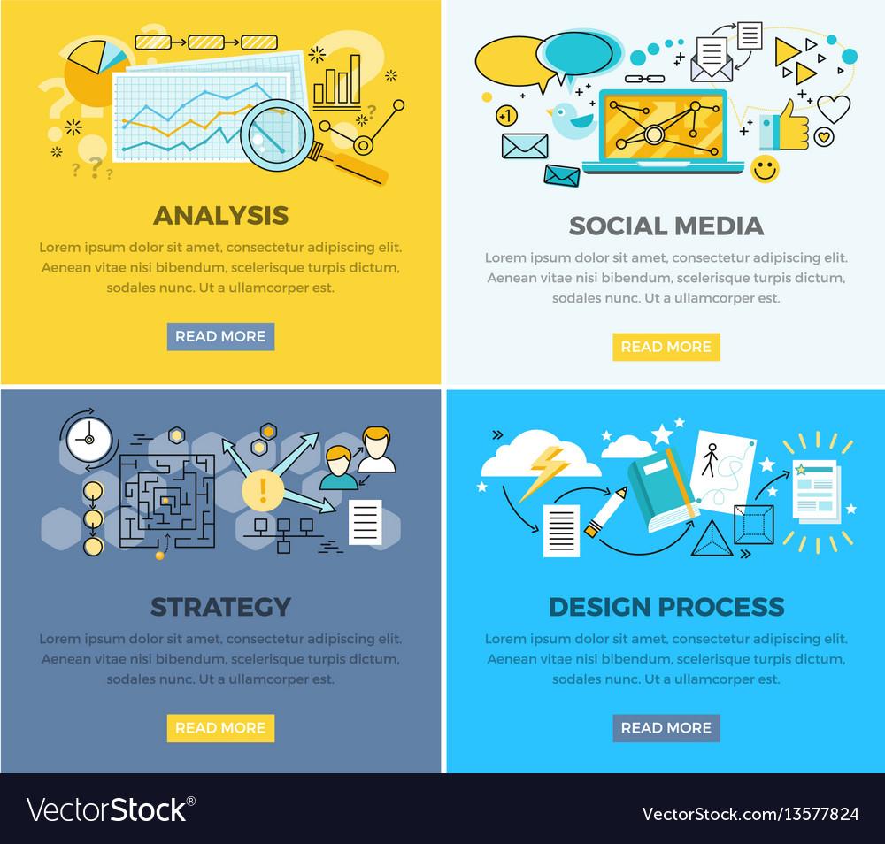 Social media analysis and design progress strategy
