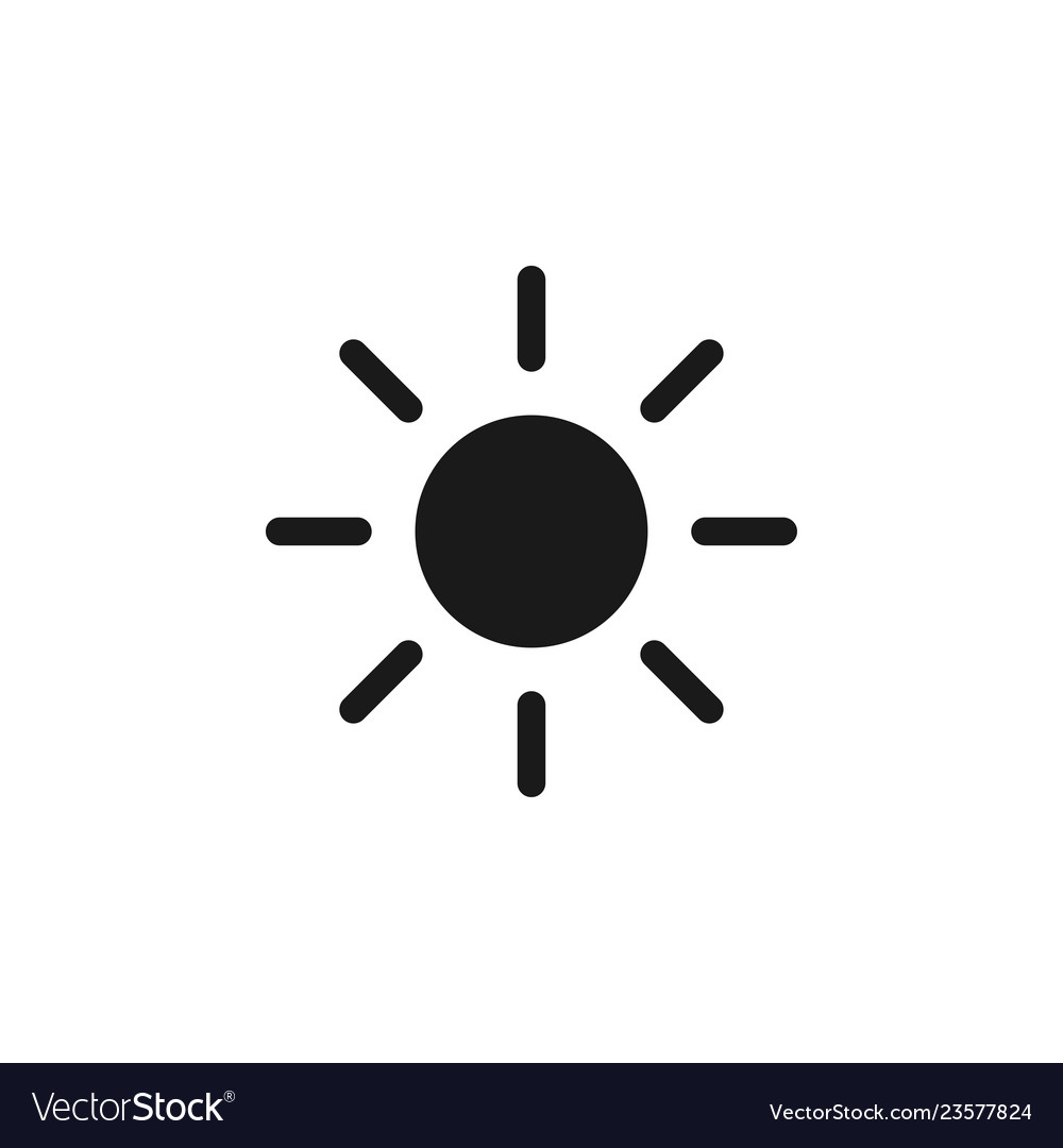 Sun icon graphic design template