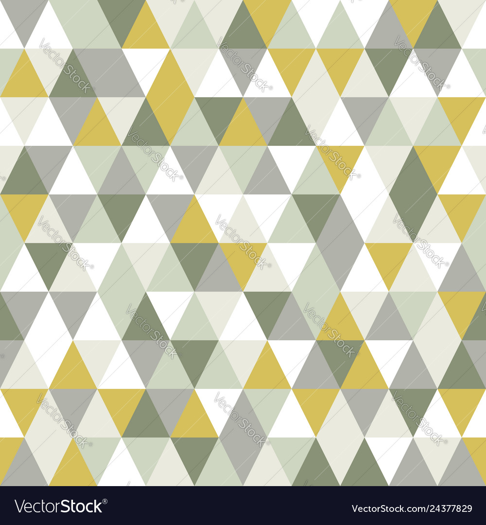 Modern triangle seamless pattern abstract