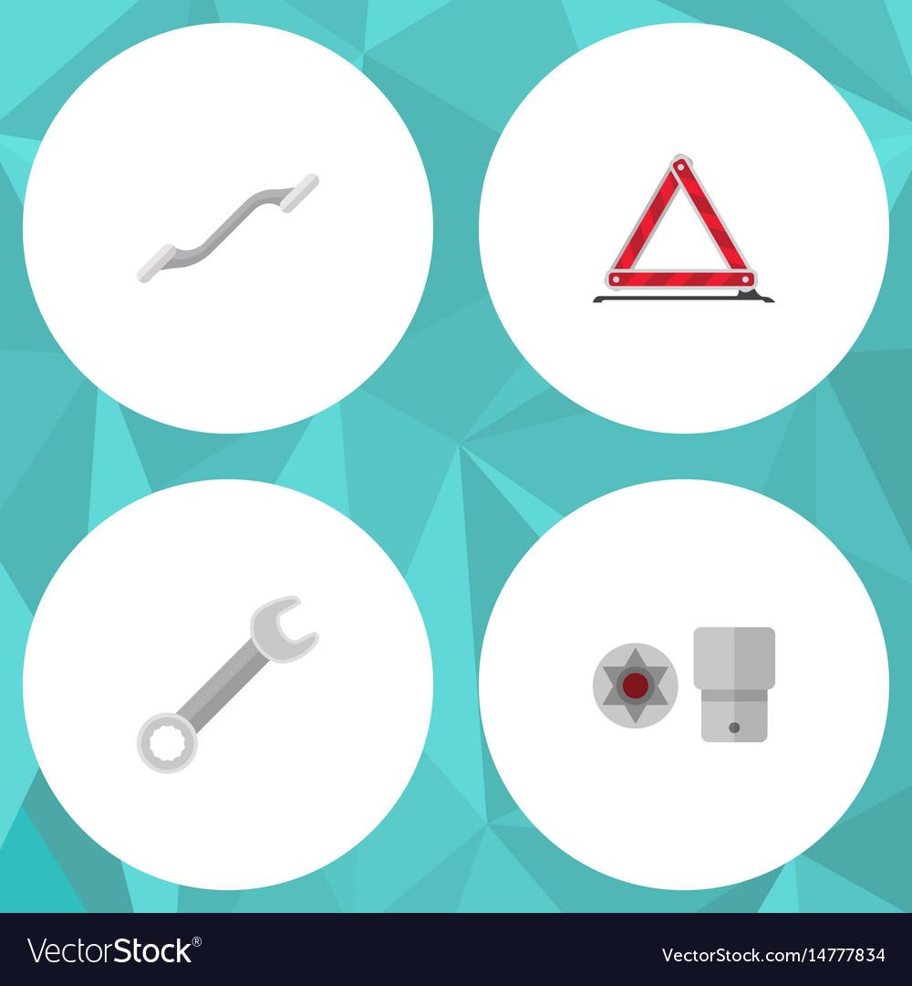 Flat service set of turnscrew coupler warning