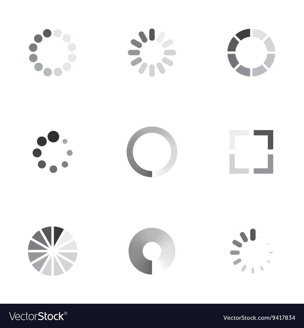 Loading icons set