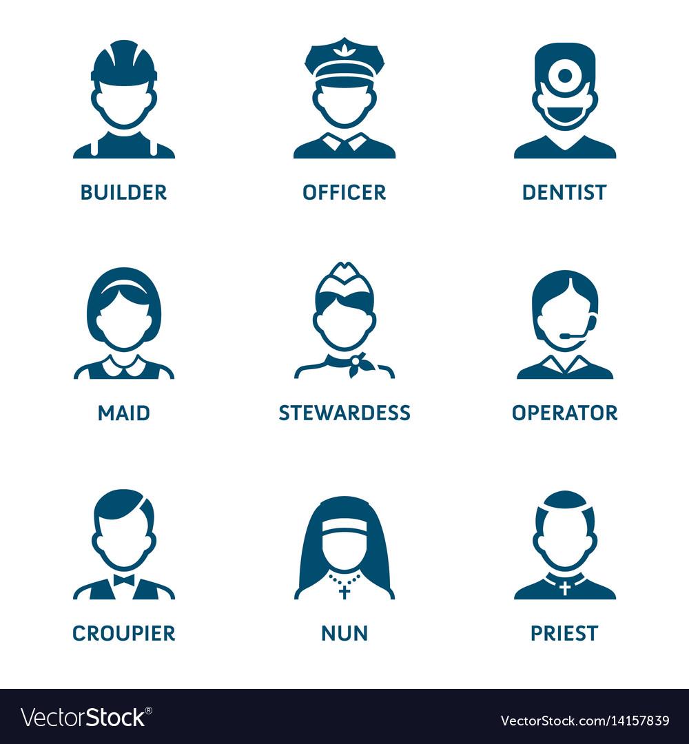 Profession icons - set i
