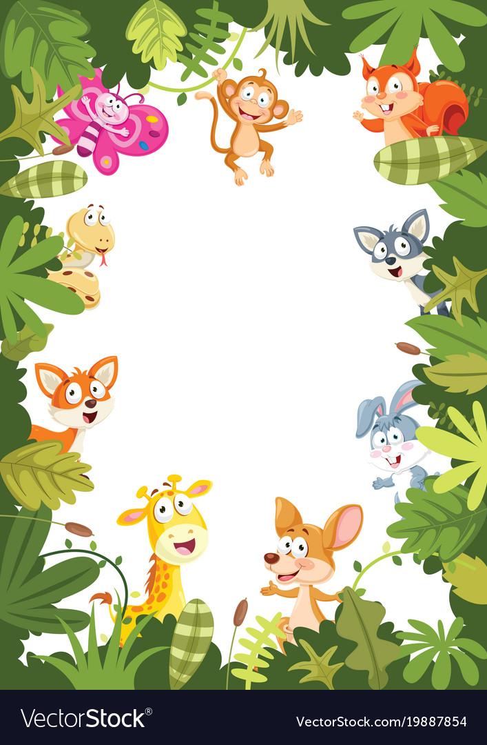 Animals banner vector image