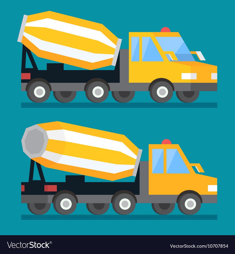 Building construction concrete mixer truck Cement