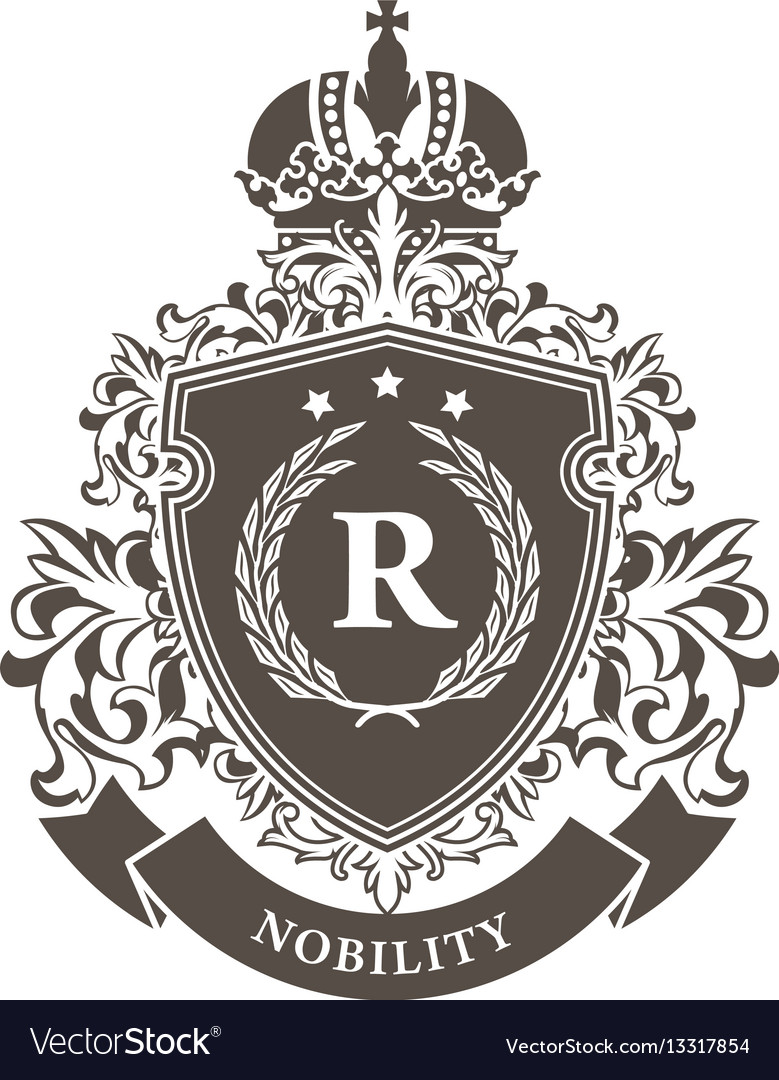Imperial coat arms - heraldic royal emblem shie