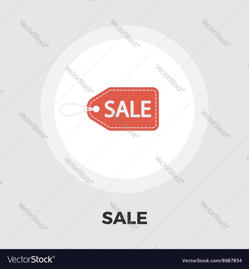 Sale Label icon flat vector image