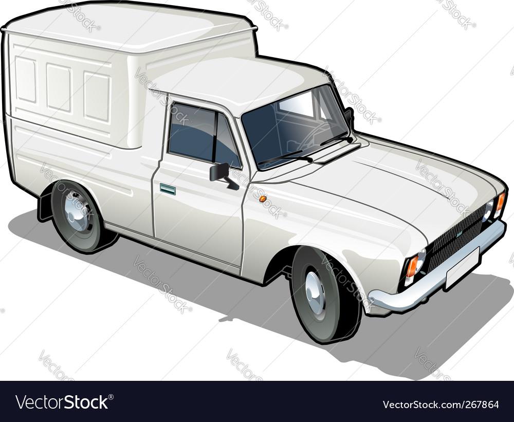 Delivery cargo van