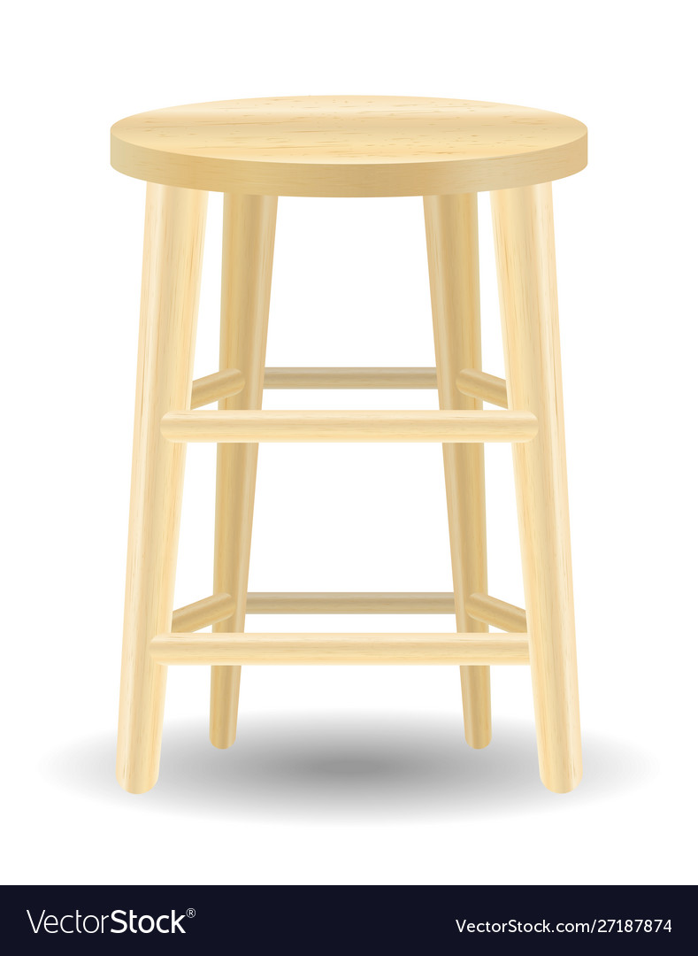 Groovy Round Wood Chair On A White Background Pabps2019 Chair Design Images Pabps2019Com