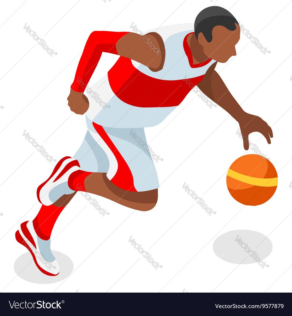 Basketball 2016 Sports 3D Isometric