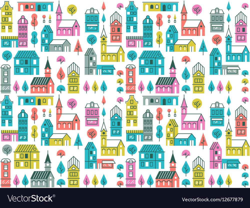 Seamless urban pattern