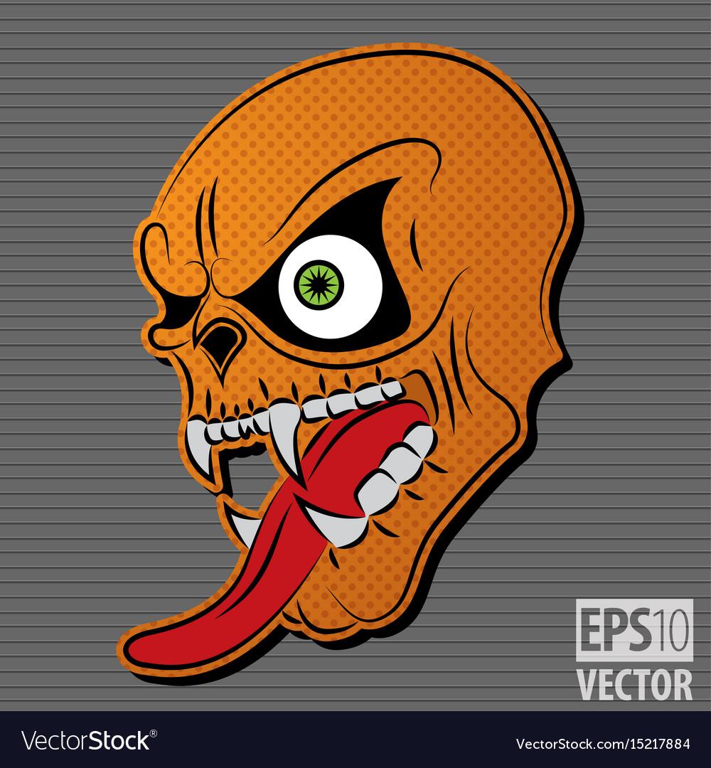 Halloween motive icon