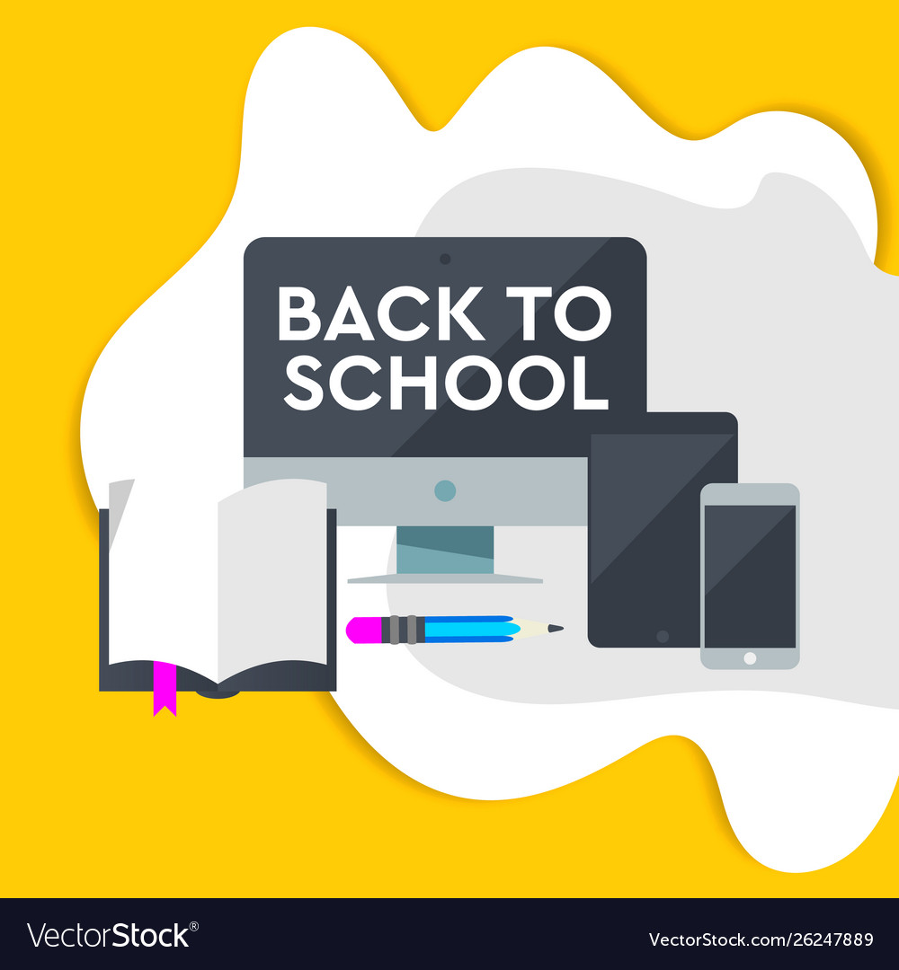E-learning design online education concept