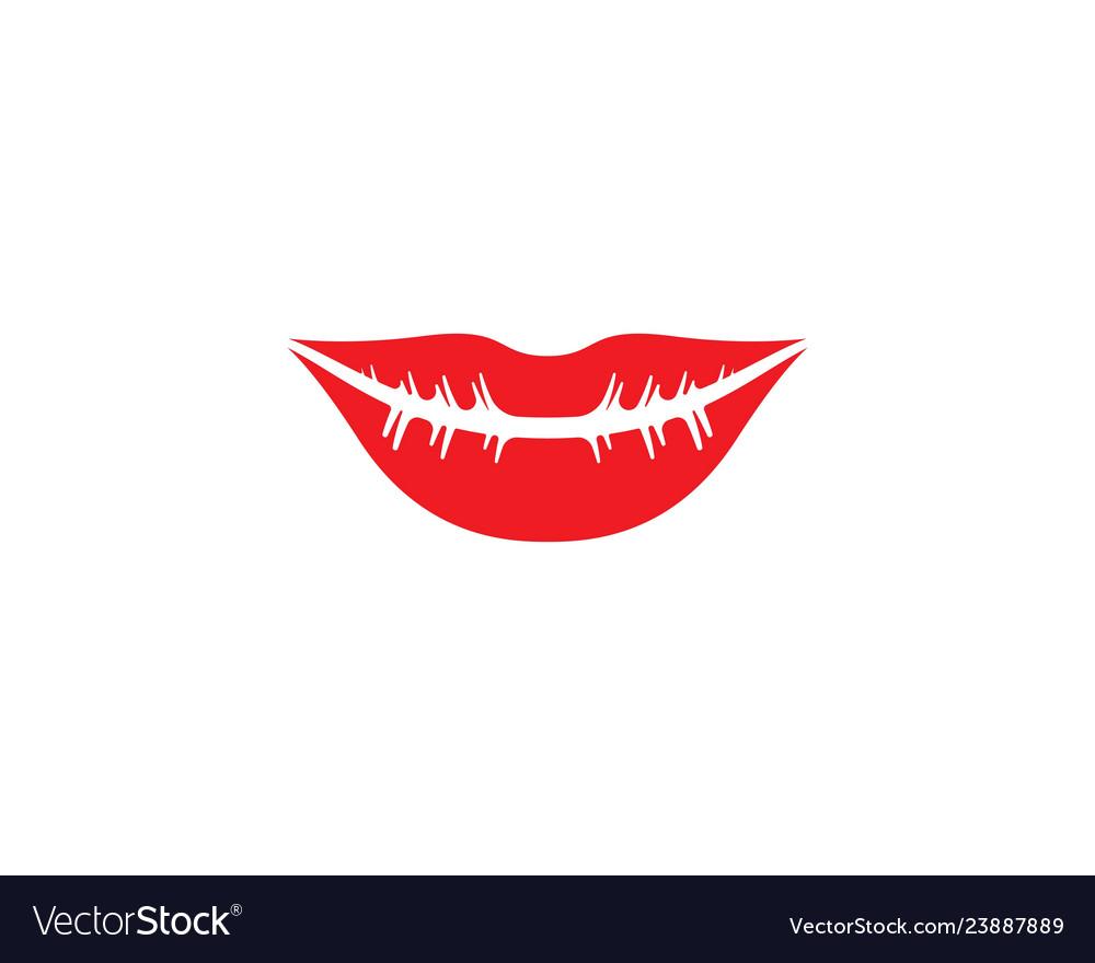 Lips Template | Lips Logo Template Royalty Free Vector Image Vectorstock