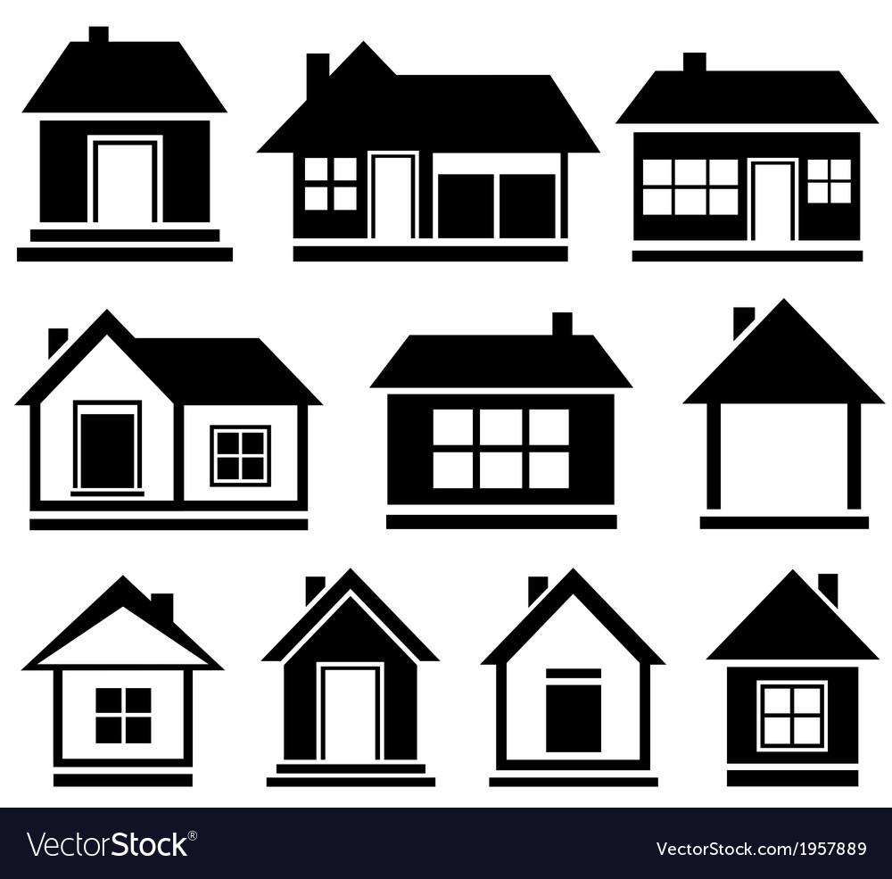 Set isolated house