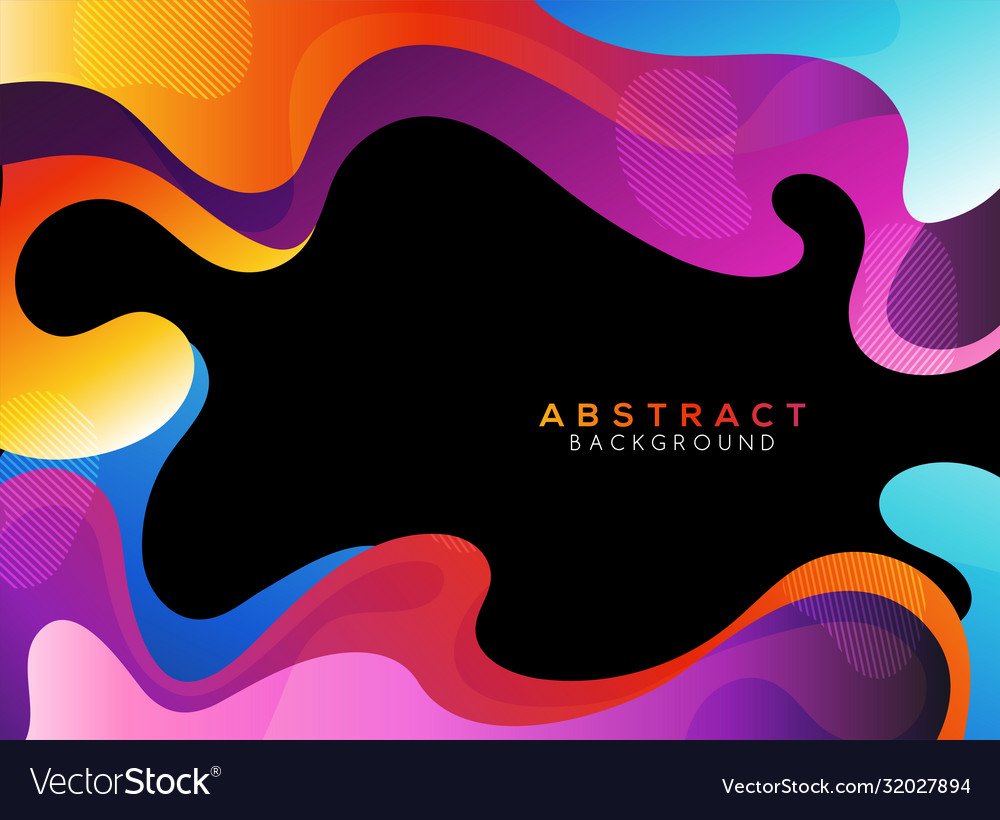 Moving colorful abstract background dynamic