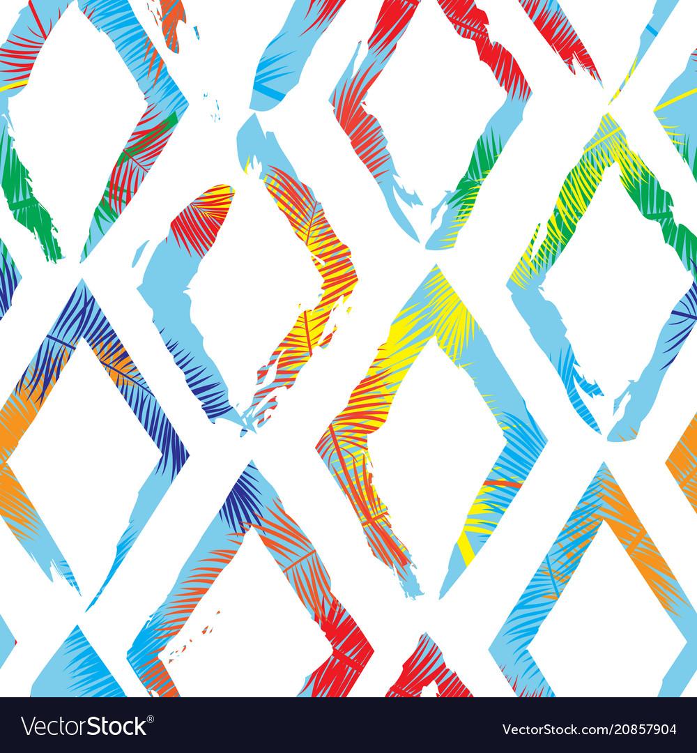 Beautiful abstract seamless pattern