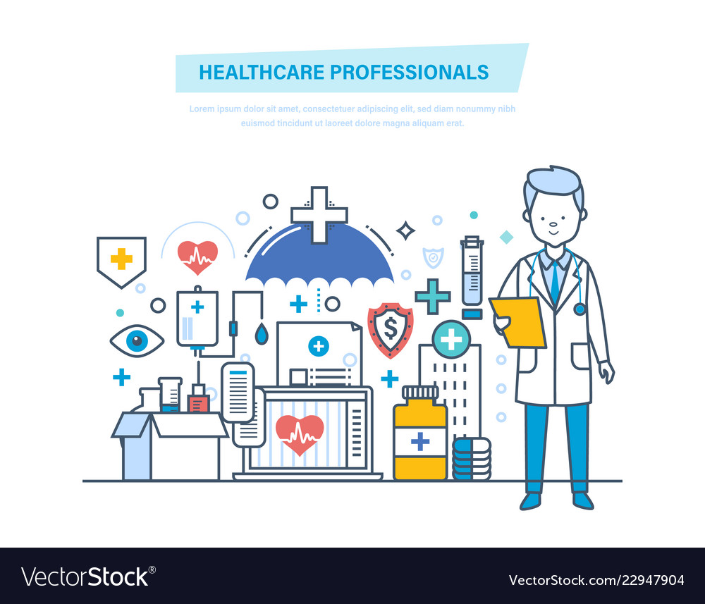 Healthcare medical professionals medical doctor