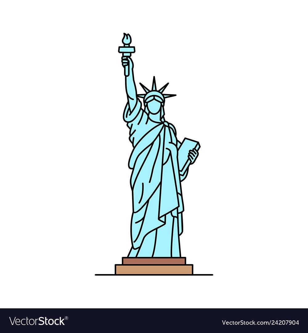Statue of liberty icon