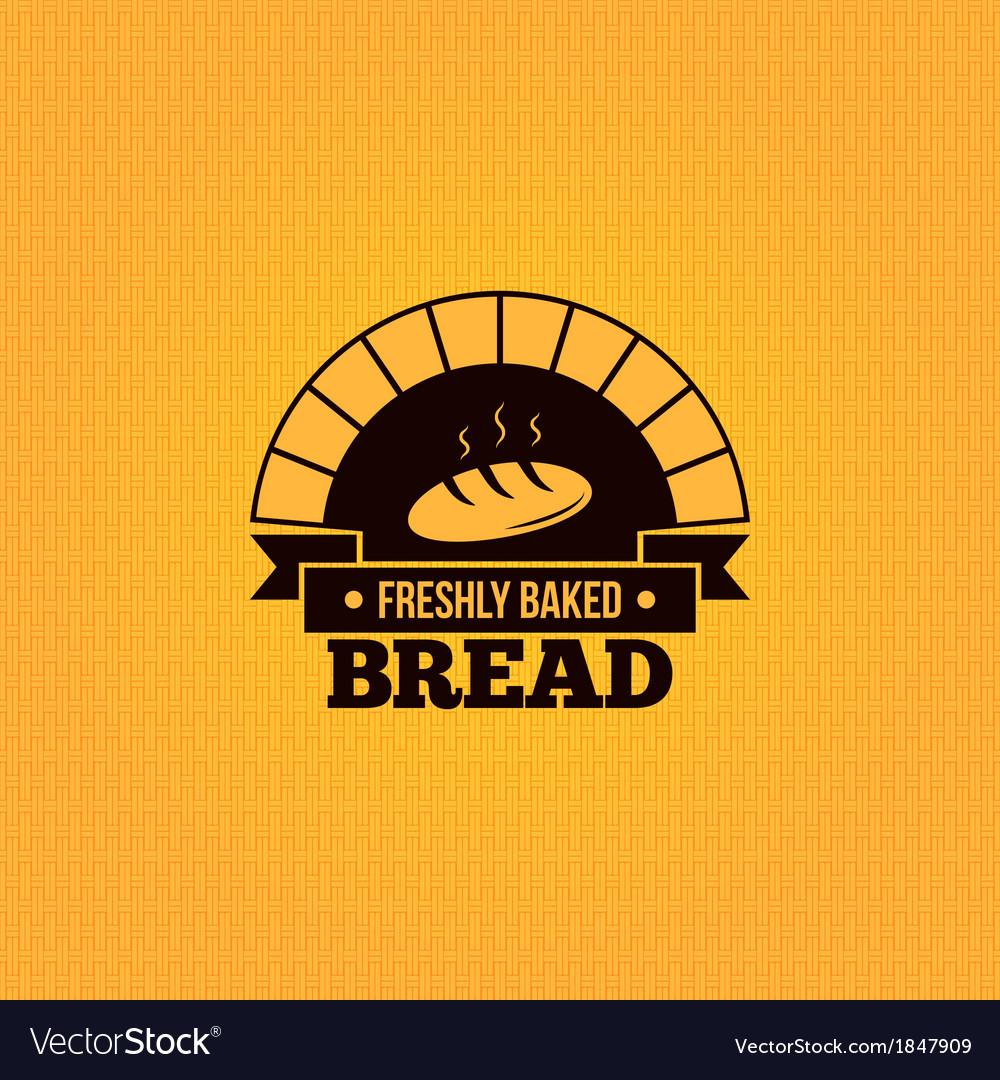 Bread vintage design menu background