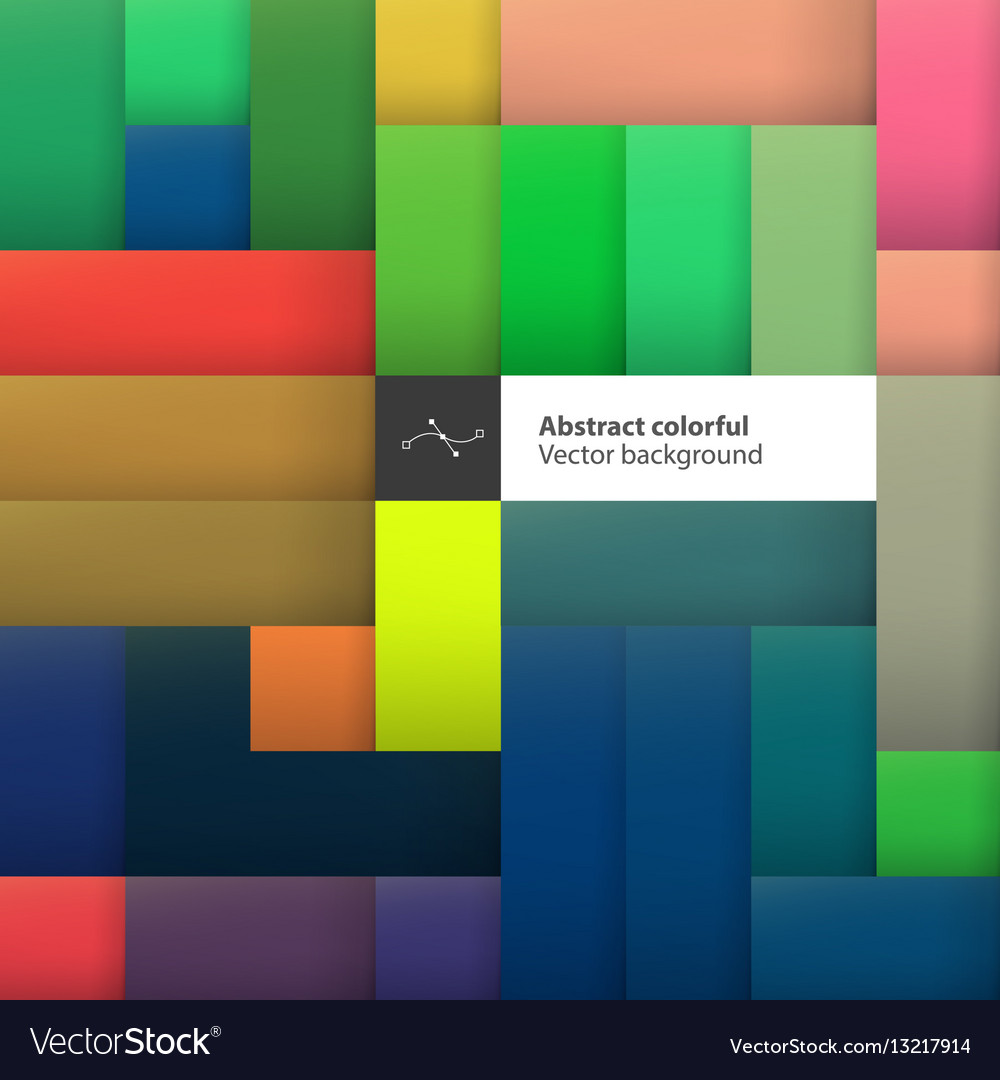Color squares Abstract geometric colorful
