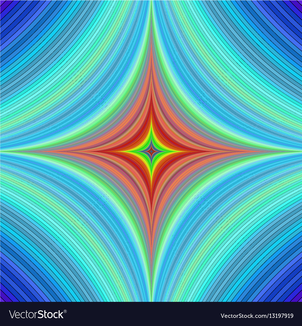 Abstract quadratic background design vector image