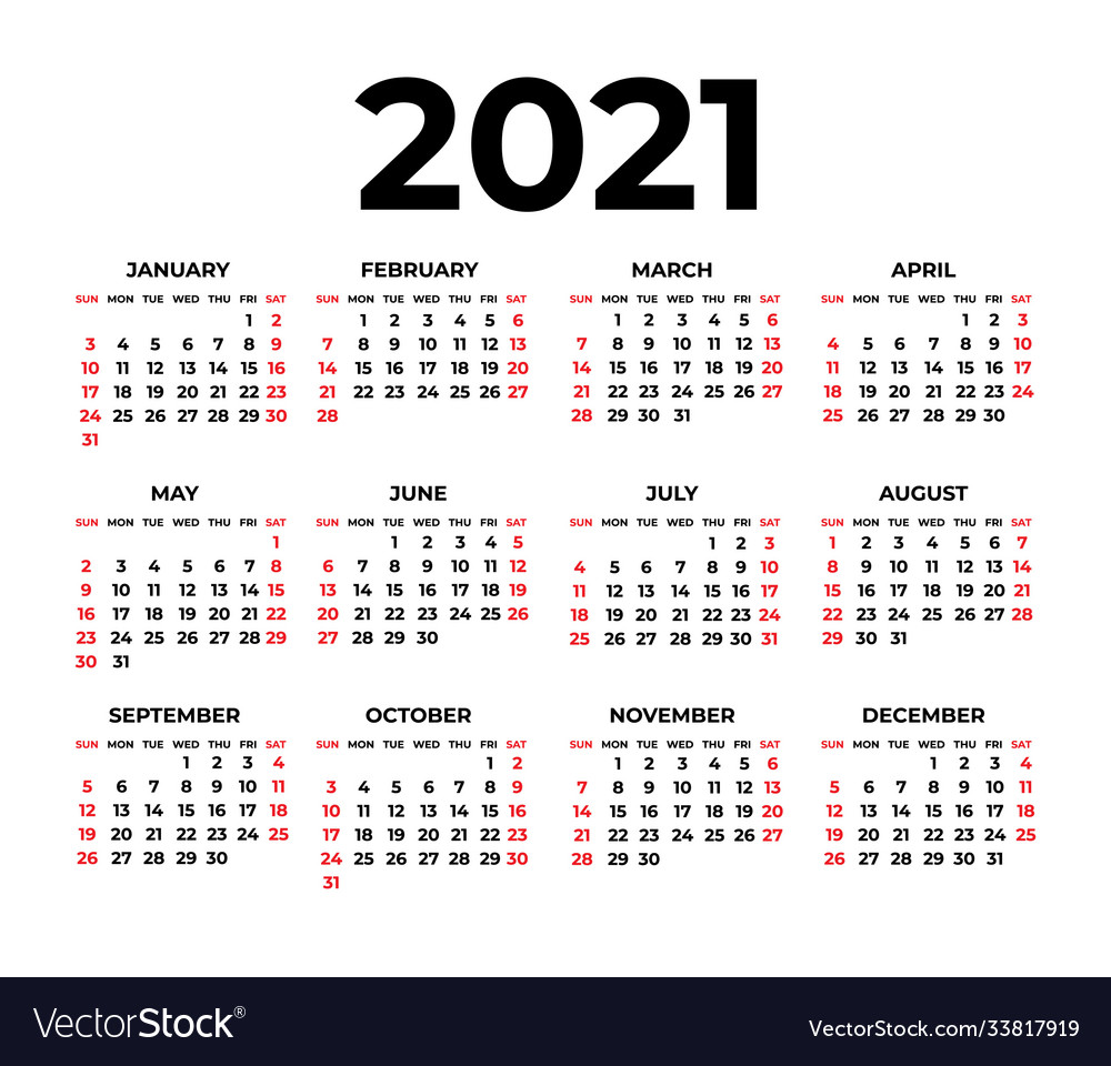 Calendar for 20 on white background Royalty Free Vector