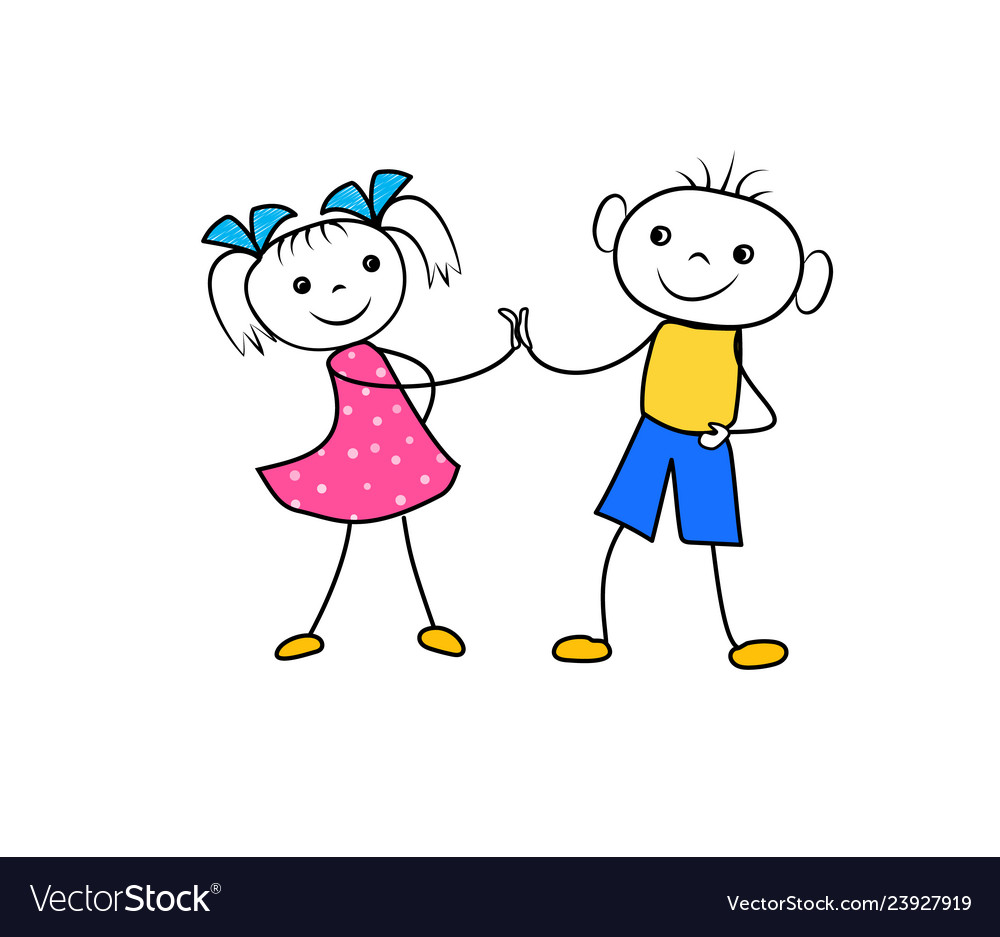 Couples Silhouette Clip Art Boy And Girl Holding Hands Silhouette Image  Provided - EpiCentro Festival