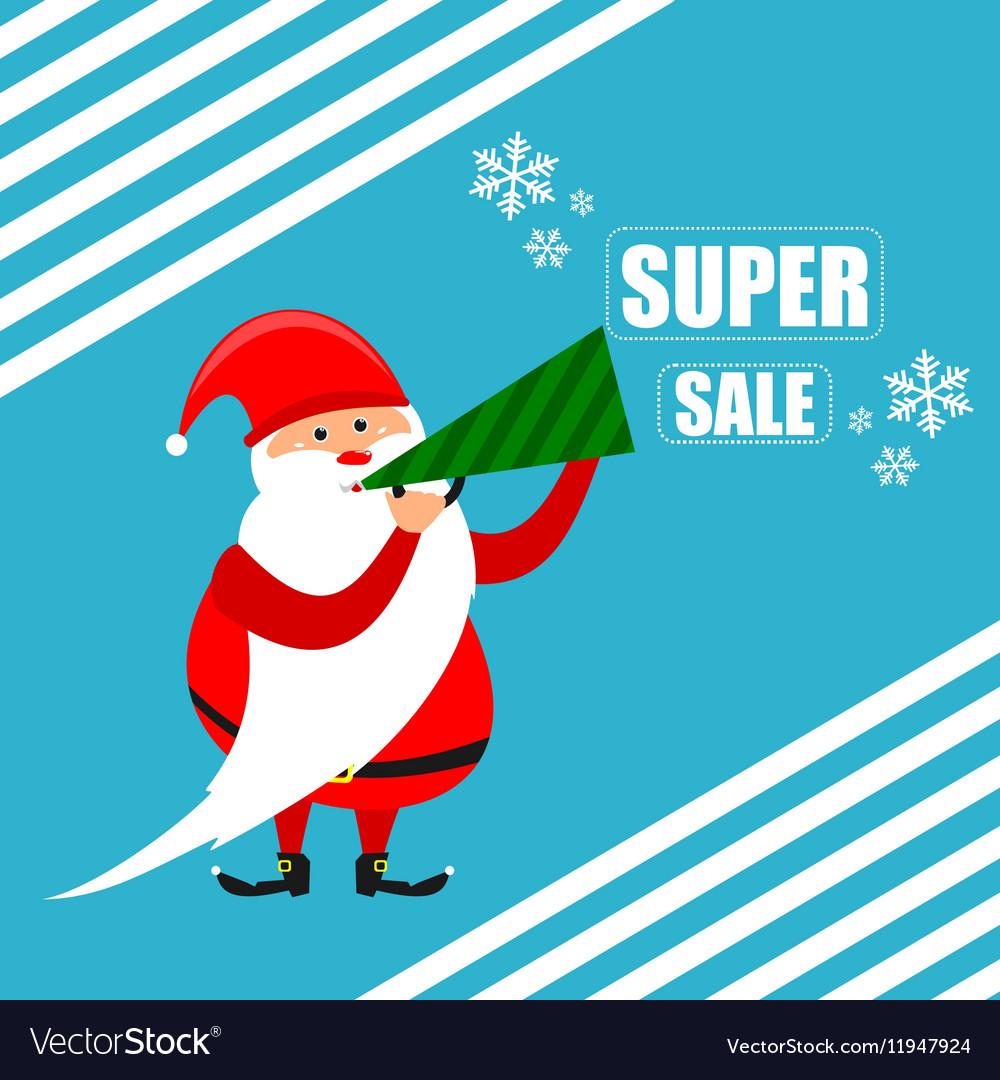 Santa super discount new year