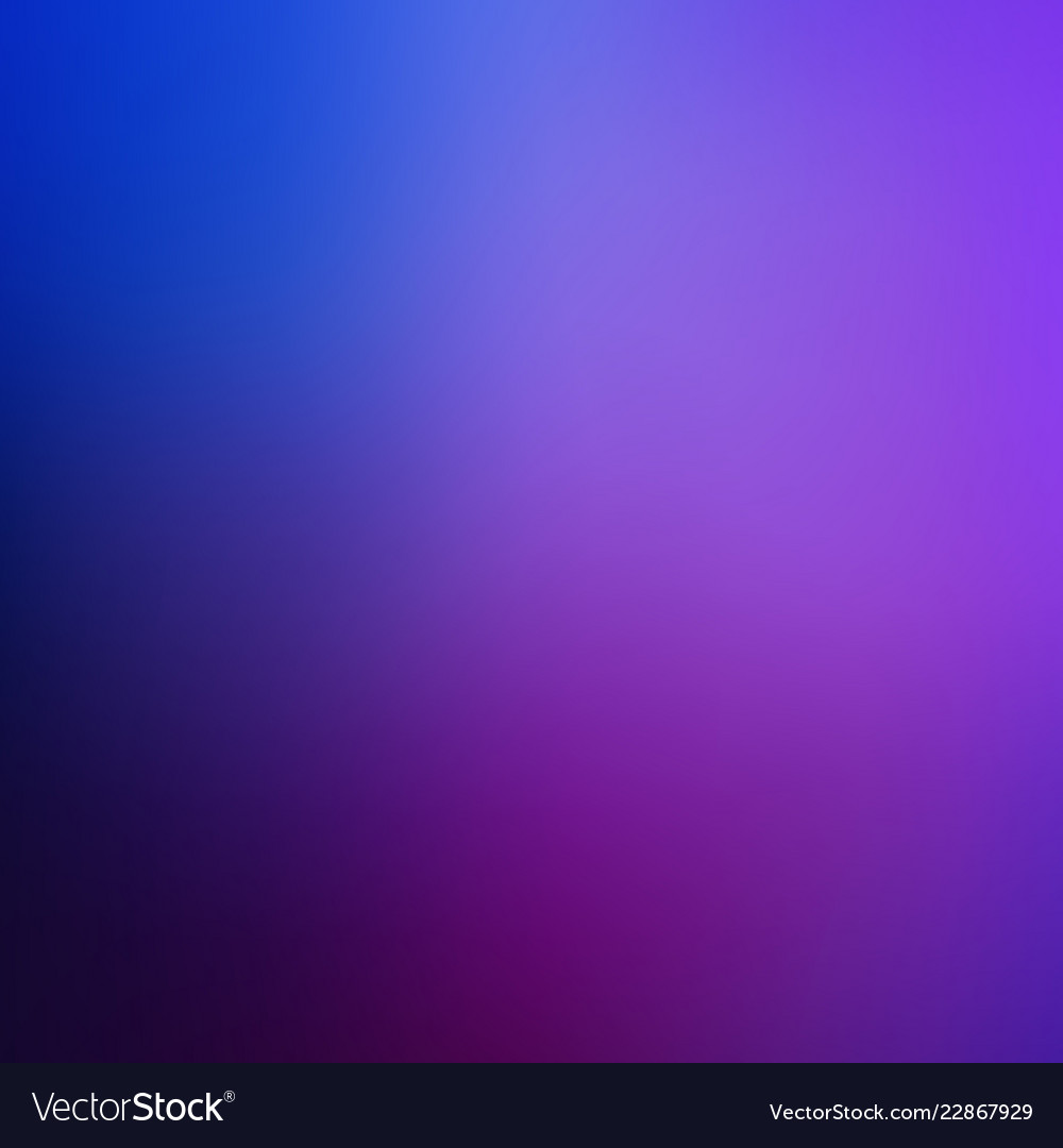 Abstract Dark Blue Purple Blurred Background Vector Image