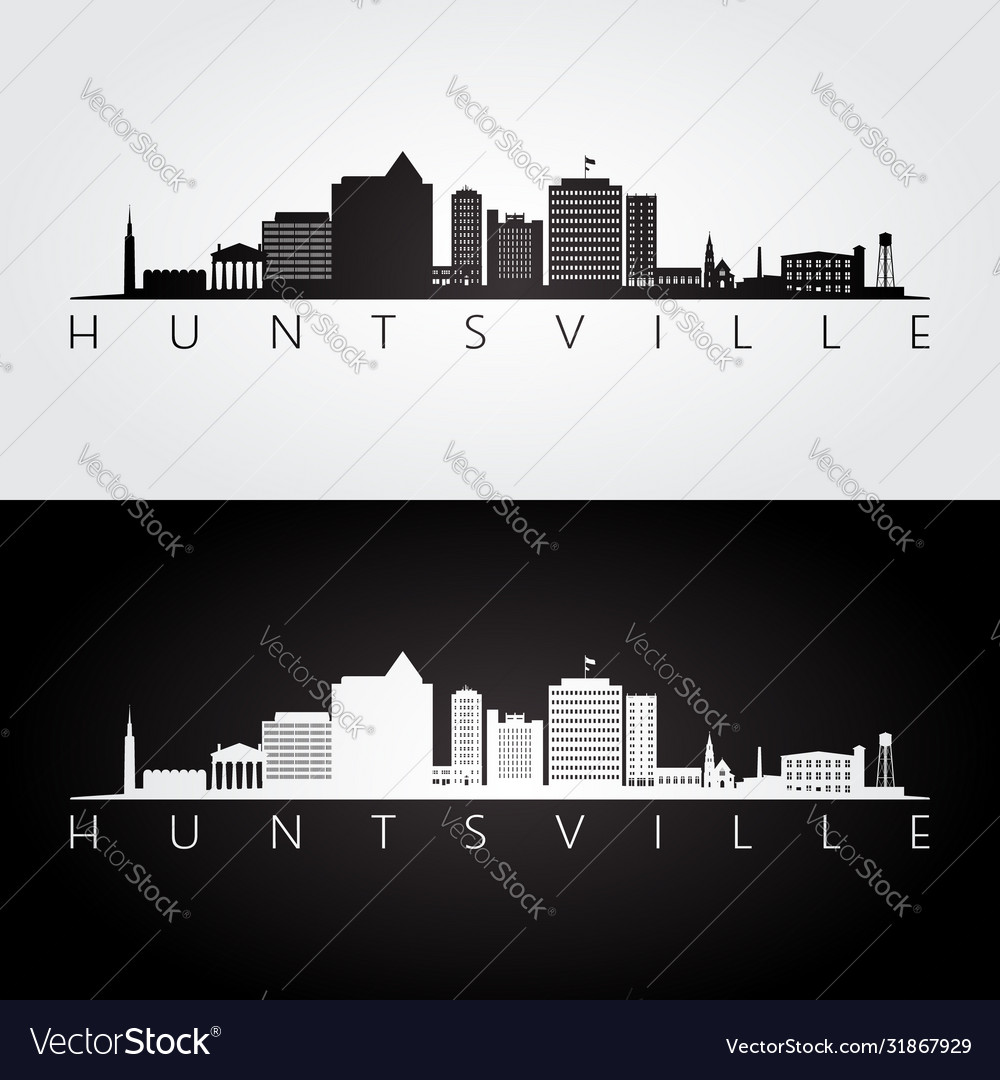 Huntsville alabama skyline and landmarks