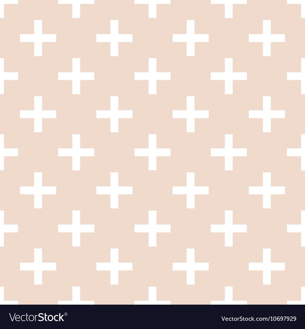 Tile cross plus pastel pattern