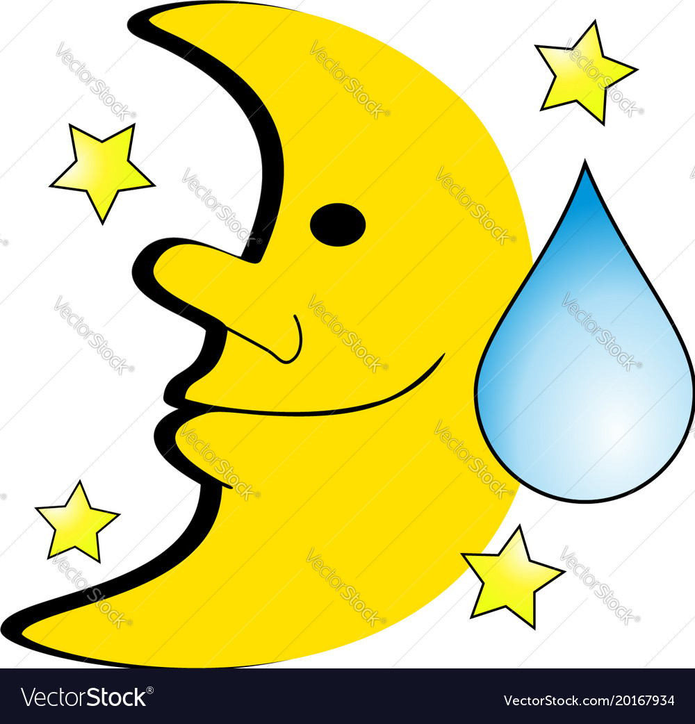 Moon icon depicting night sweats