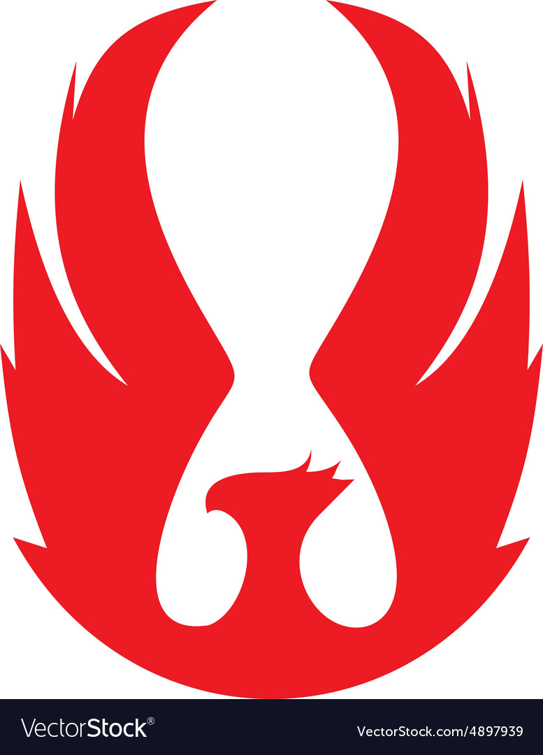 Phoenix emblema red