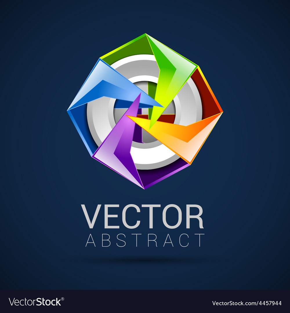 Abstract logo design template abstract isolated