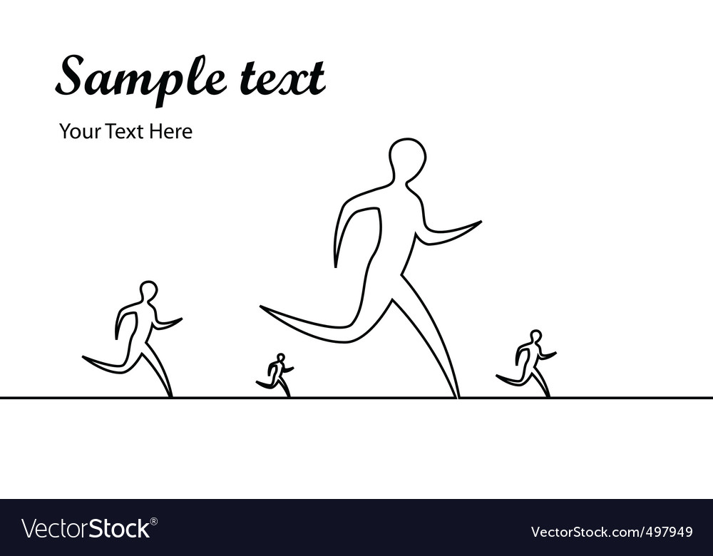 pictures of people running. People running vector