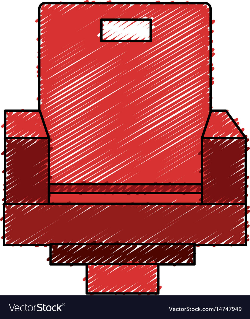 Movie theater chairs icon vector image  sc 1 st  VectorStock & Movie theater chairs icon Royalty Free Vector Image