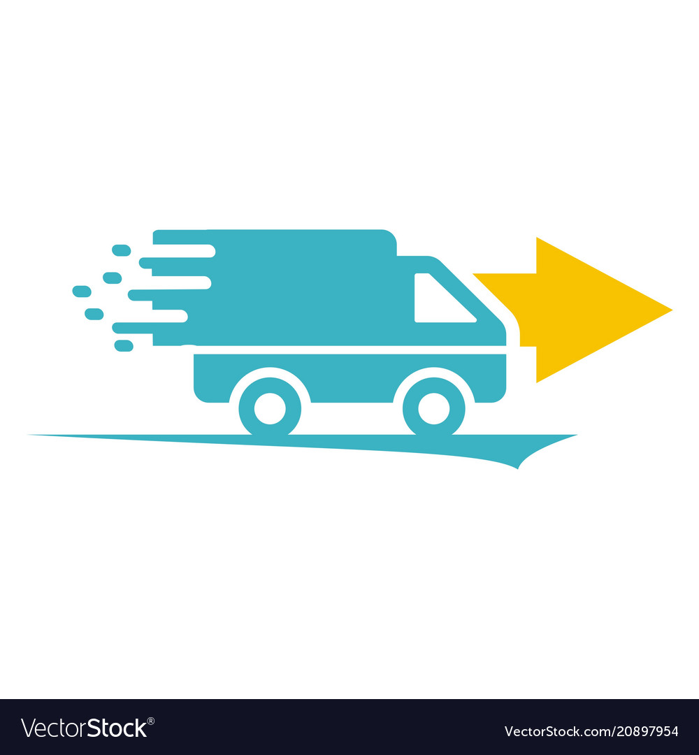 Car delivery logo