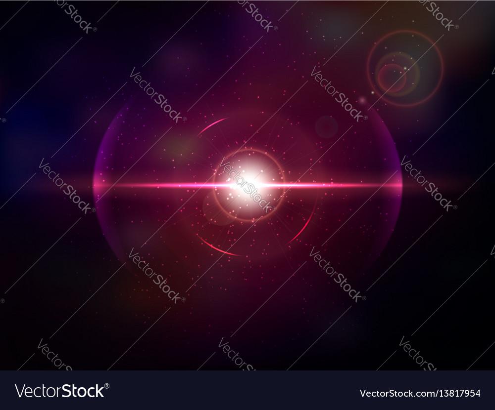 Magenta space explosion cosmos burst