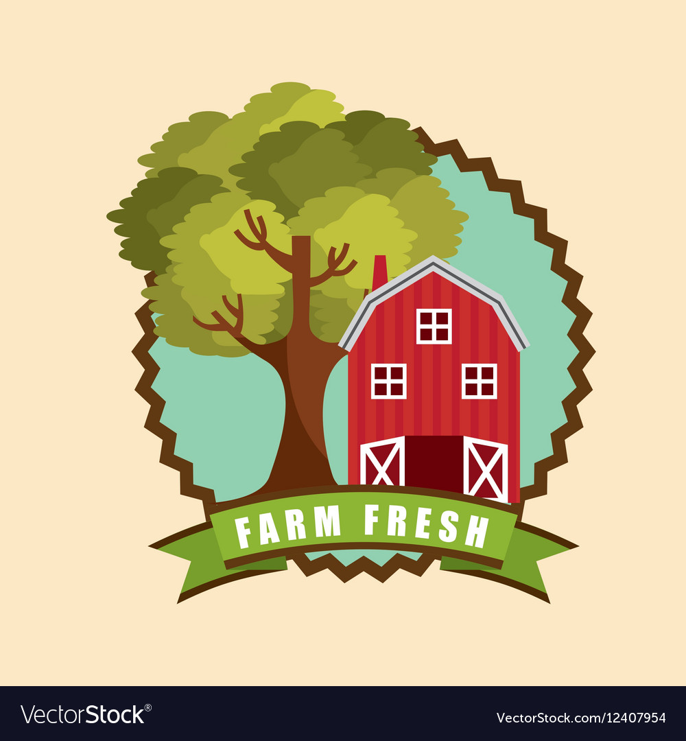 Red barn icon