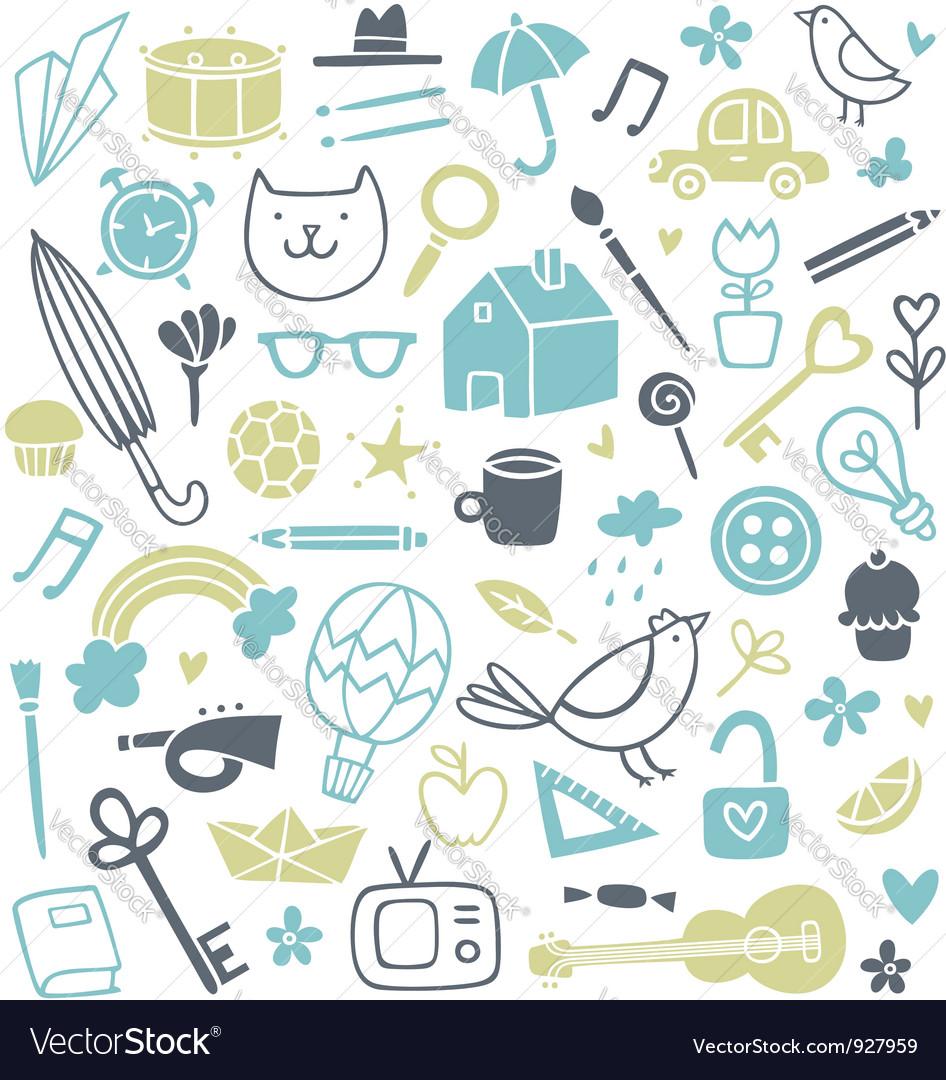 Doodle Clip Art vector image