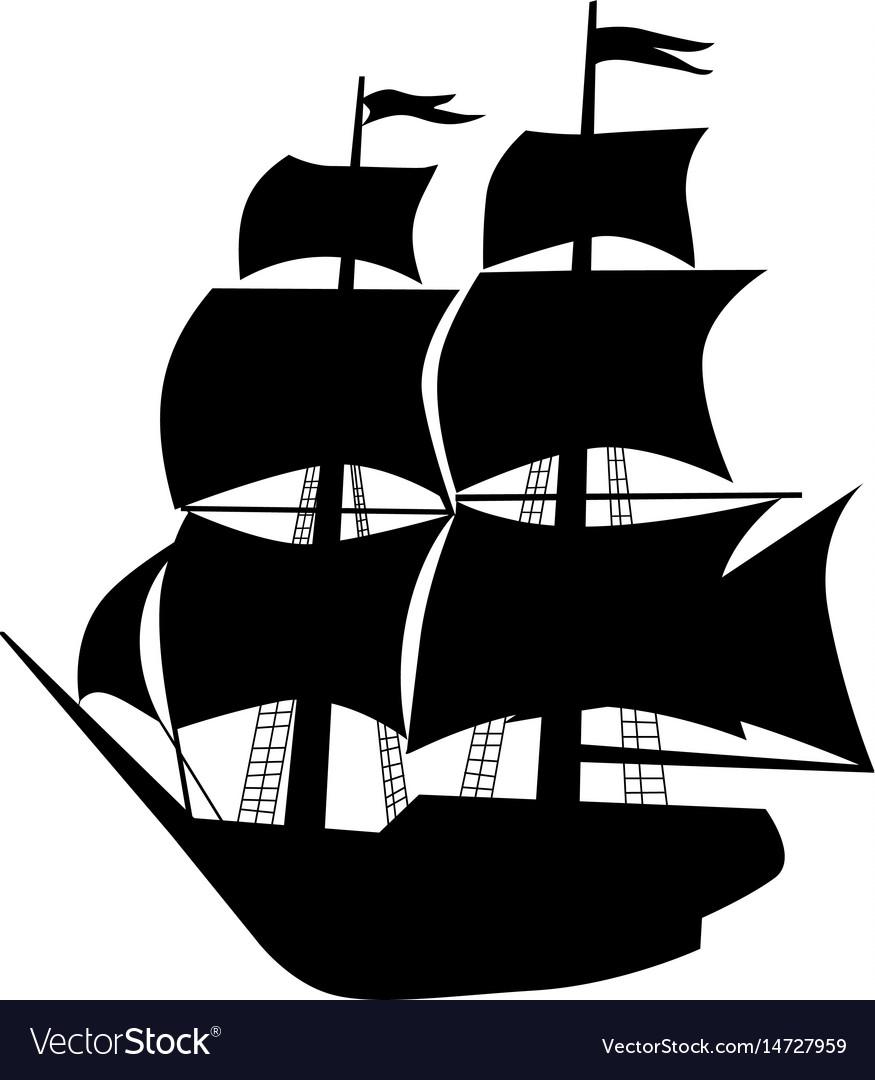 Vessel vector image