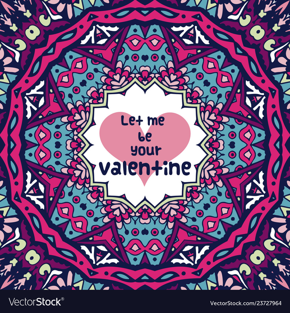 Abstract violet valentine background with hearts