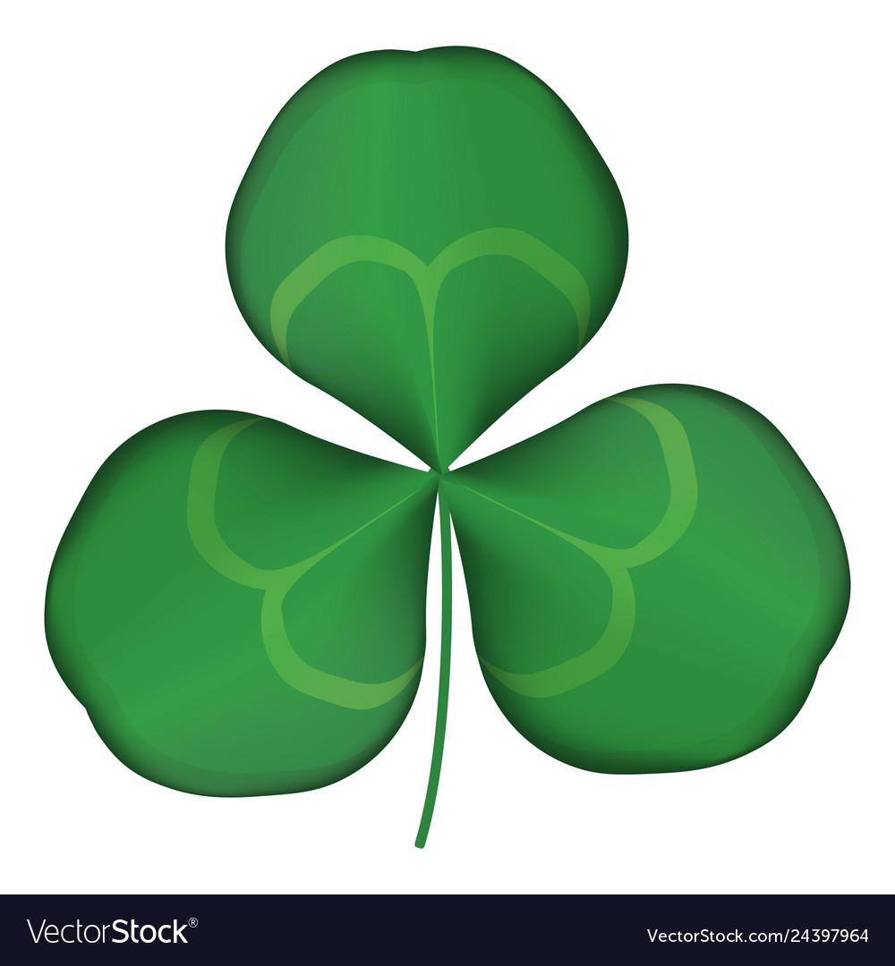 Green clover logo eps 10