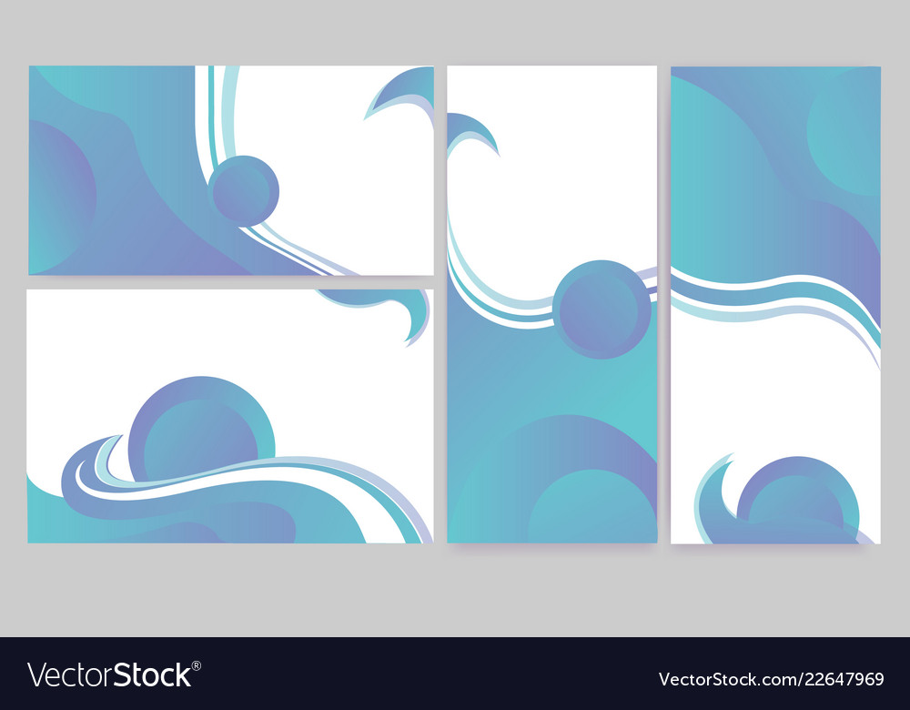 Abstract elegant banners set of templates for eb