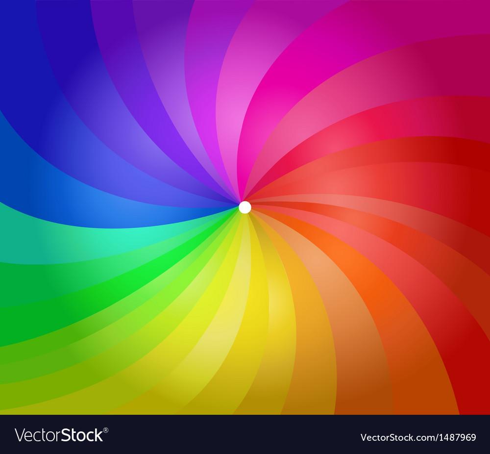 Colorful spiral stripes