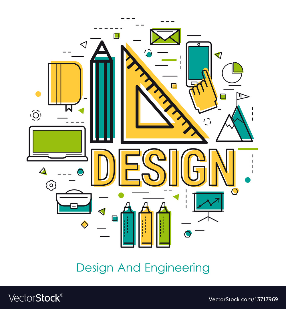 Line art - design and engineering