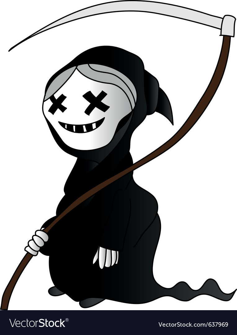 Little death vector image