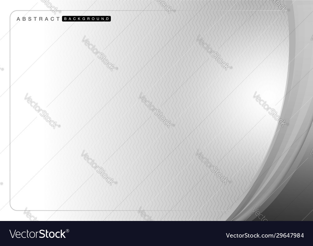 Wavy gray shapes on line wave background