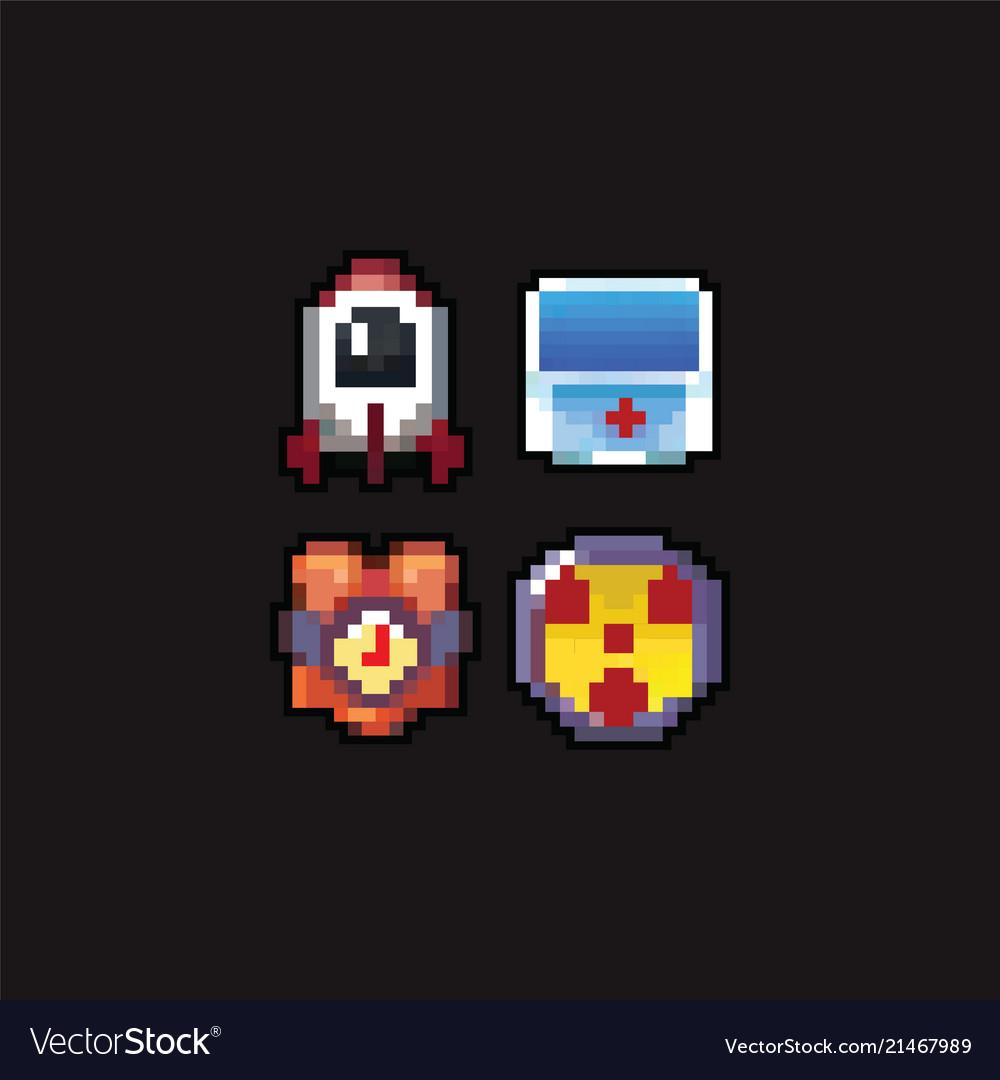 8 bit pixel art icons